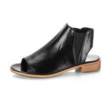 COOTELILI Yaz Ayakkabı Kadın Düz Sandalet Kadın Bayanlar Sandalet Açık Ayak Kadın Oxfords Kayma yarım çizmeler kadın(China)
