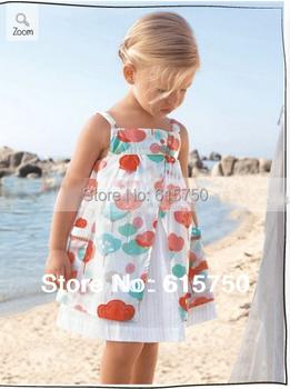 Clearance Girl Dress Print Pattern Cotton Baby Girls Dress  Kids Clothes Princess Dress for Girls Summer Dresses