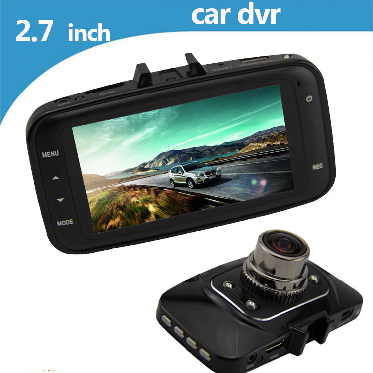 New car dvr GS8000L HD1080P wide-angle 140 degree night vision car camera recorder 2.7 inch LCD car video recorder G034(China (Mainland))