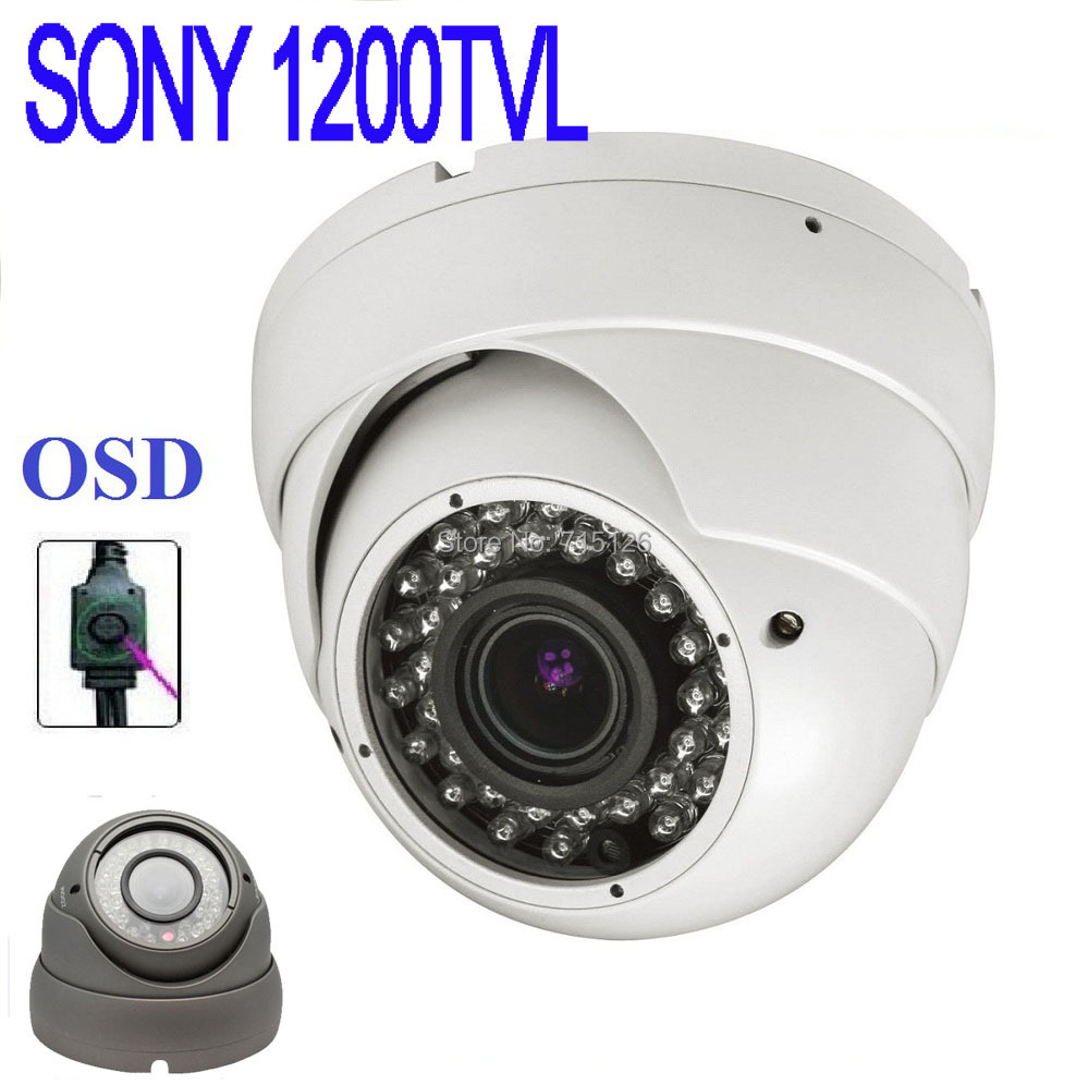 HD 720P Megapixe 1200TVL Sony CCTV Varifocal 2.8-12mm lens Outdoor/indoor security dome cameras IR cctv Camera - Shenzhen Longsee Technology Co.,Ltd store