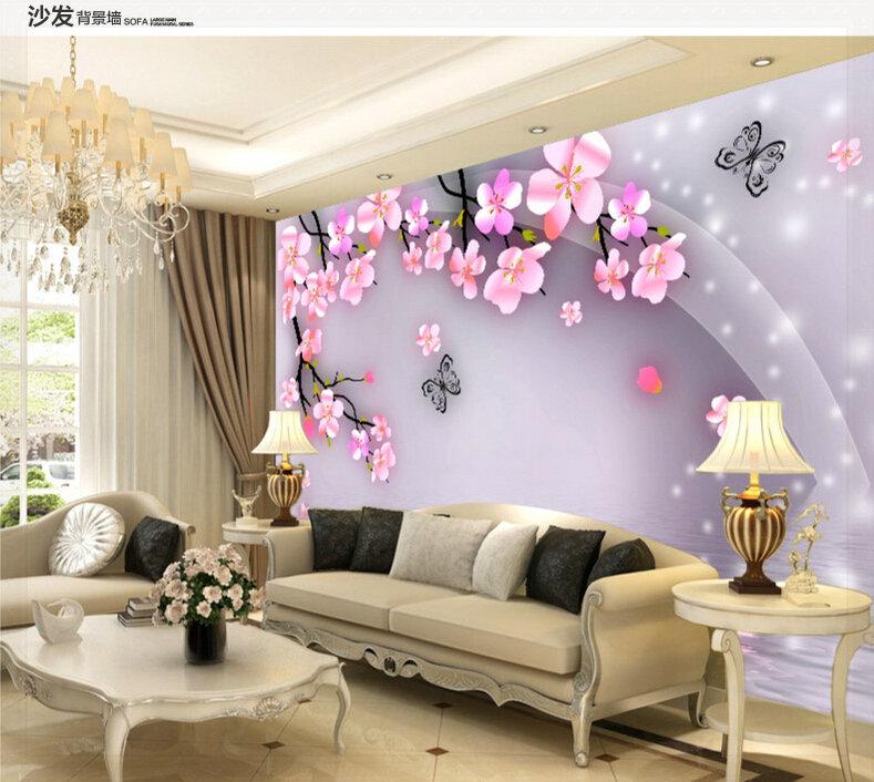Fundo do p ssego popular buscando e comprando fornecedores for Wallpaper sala de estar