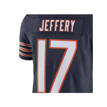 Men's Alshon Jeffery 17# Navy Color Rush Limited Jersey Embroidery Logos and 100% Stitched Free Shipping(China (Mainland))