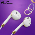 In Ear Earphone For iPhone 6s 6 5 Xiaomi Hands free Headset Bass Earbuds Stereo Headphone