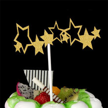 Bolo Topper Topper Decorações Da Festa de Aniversário Dos Miúdos Fontes Do Partido Feliz Aniversário Do Queque Do Chuveiro de Bebê Happy Birthday Cake Toppers(China)
