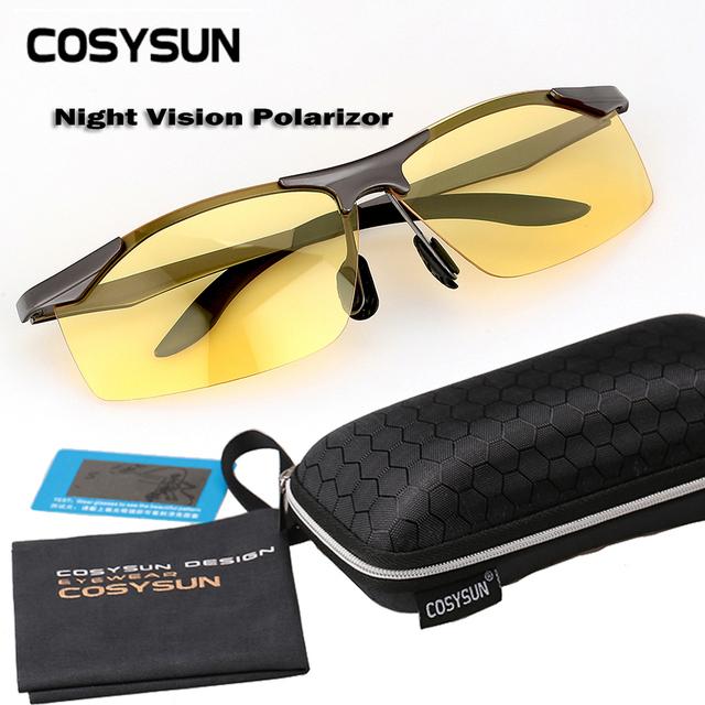С бесплатной чехол очки ночного видения вождения поляризованных солнцезащитных очков ...