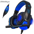 PC780 Deep Bass Gaming Headset Headphone With Mic For Computer Luminous Headphones Headset for PC Gamer