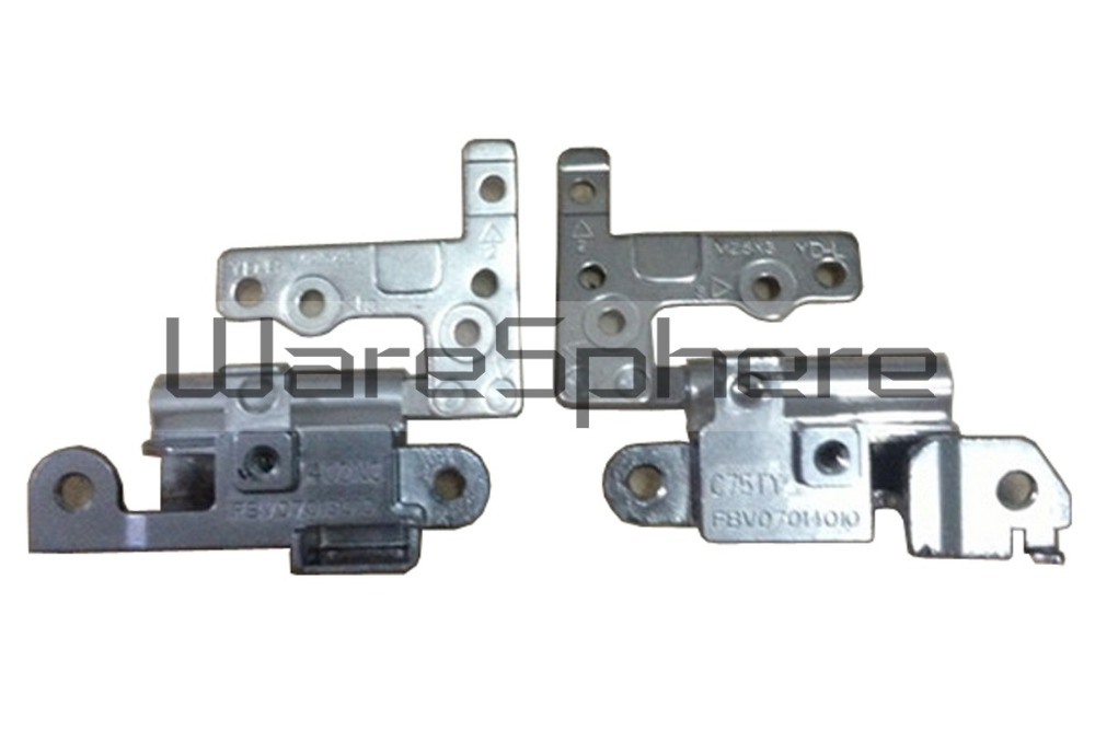 LCD Panel Hinges For Dell Vostro 3360 V3360 C75TY 402NC FBV07013010 FBV07014010(China (Mainland))
