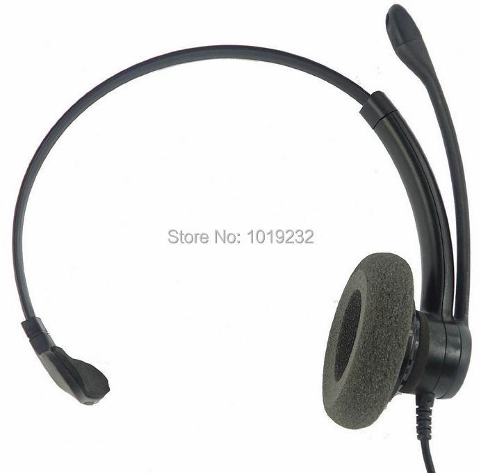 RJ9 Office Headset with RJ9/RJ11 plug Headphones call center headset Monaural RJ09 headset noise canceling headset(China (Mainland))