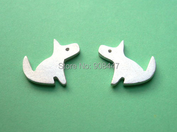 30 PCS-S74 Fashion jewelry new cute Dog Stud Earrings - Puppy Silver Jewelry - Kawaii Jewelry for women<br><br>Aliexpress