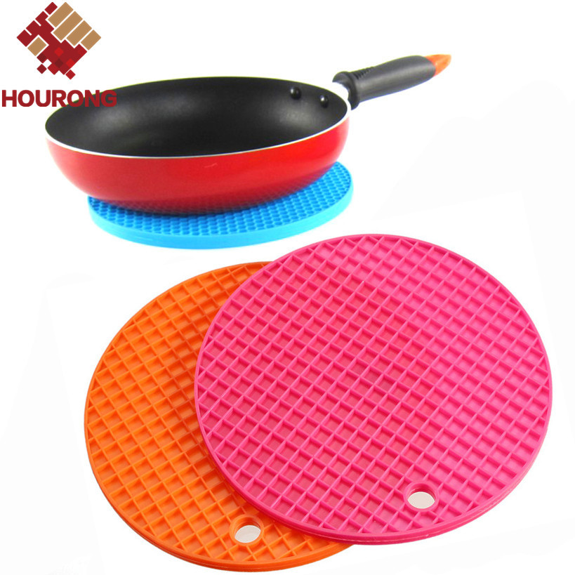 1Pc Round Silicone Mat Placemat Non slip Heat Resistant  : 1Pc Round Silicone Mat Placemat Non slip Heat Resistant Dining Table Mat Cup Coaster Posavasos Hung from www.aliexpress.com size 819 x 819 jpeg 167kB