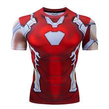 Hydra Капитан Америка 3D печатных футболки для мужчин Мстители 4 эндигра Квантовая война сжатия рубашка костюм косплей топы для мужчин(China)