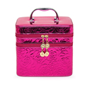 Rose Beauty Cosmetic Case Birthday Gift Makeup Organizer Storage Travel Trunk Cases Lipstick Storage Organizer Bag
