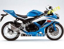 Buy Hot Sales,White Blue SUZUKI fairings GSXR 600 750 2008 2009 2010 K8 GSXR600 GSXR750 08 09 10 Fairing (Injection molding) for $369.00 in AliExpress store
