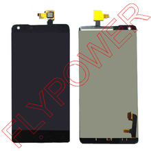 100% New Original Black LCD Screen Display + Touch Digitizer For ZTE Nubia Z5 Z5s NX501 Assembly by free shipping