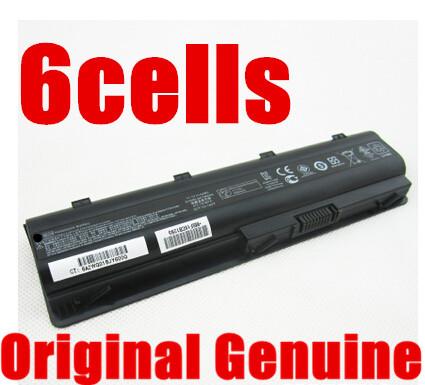 New Original Genuine Laptop Batteries for HP Pavilion G4 G6 G7 CQ42 CQ32 G42 CQ43 G32 DV6 DM4 430 Batteries 593553-001 MU06(China (Mainland))