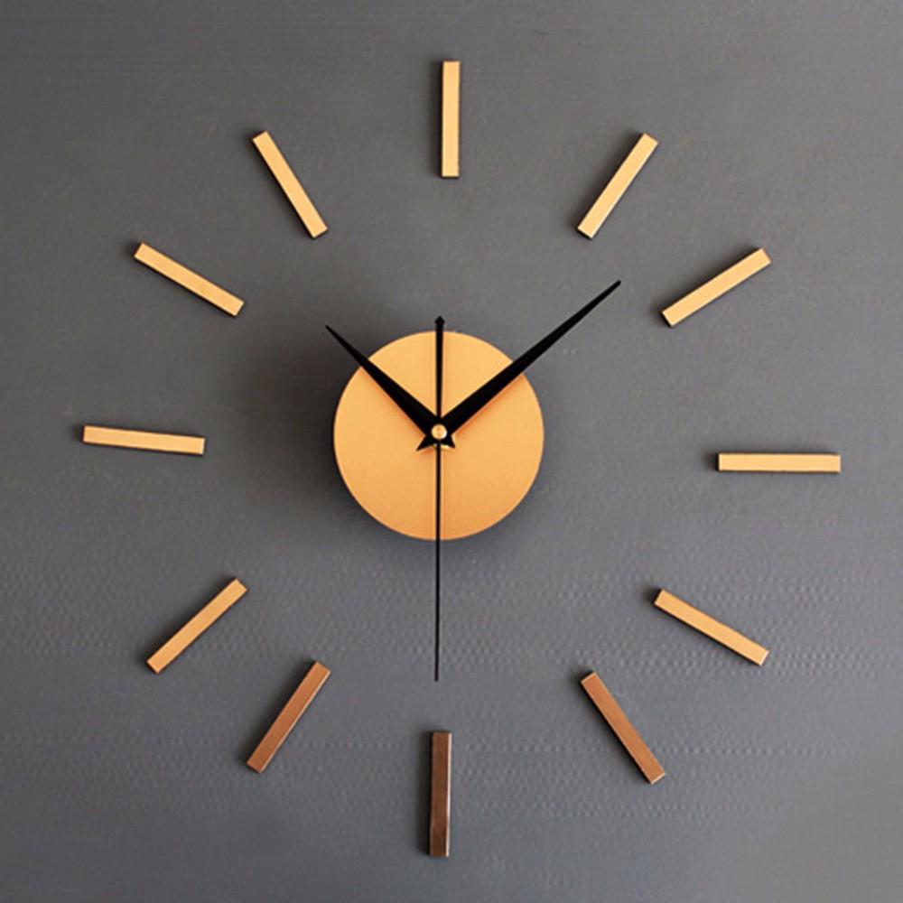 3d diy home decor quartz diy wall clock clocks horloge watch