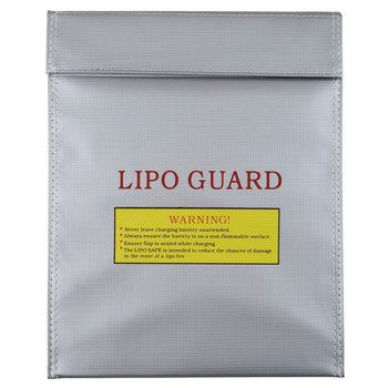 Free Shipping High Quality 300 x 230 mm RC Fireproof Lipo Li-Po Battery Safety Bag Case Guard Safe Bag Charge Sack