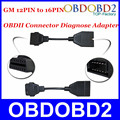 OBD OBD2 Connector for GM 12 PIN Adapter to 16Pin Diagnostic Cable for GM 12Pin for