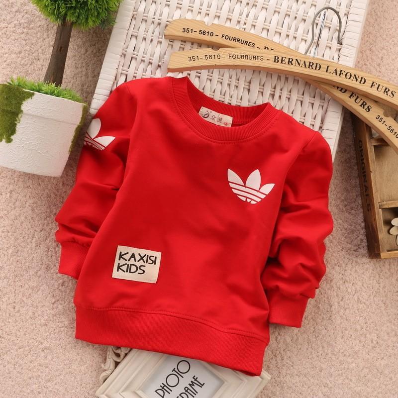 новые моды baby одежда мальчиков и девочек толстовки, детские повседневные детей Толстовки Миньон t рубашка