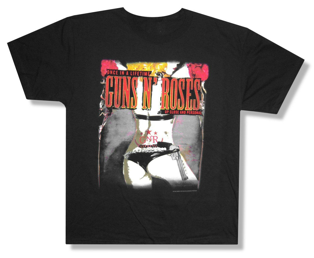 "GUNS N ROSES - ""ONCE IN A LIFETIME"" 2012 TOUR MIAMI T-SHIRT - NEW ADULT t shirt personalised printing(China (Mainland))"