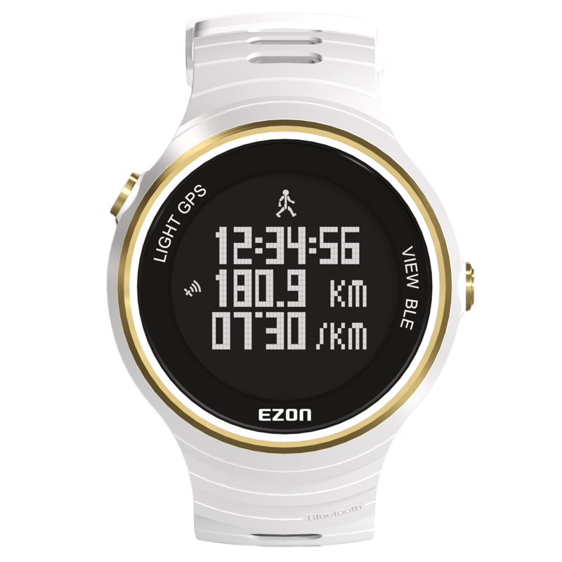 Ezon outdoor sports for smart gp s watches running male multifunctional waterproof electronic watch g1
