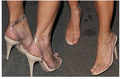 Sexy Kim Kardashian Sandal Style PVC Clear Transparent Strappy Buckle High Heel Sandals Plus Size Custom