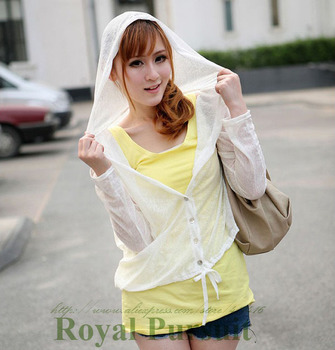 2015 New Arrival Fashion Women Casual Chiffon Summer Neon Color Top Candy Pattern Blouse with Long Sleeve Block Sunshine 14001