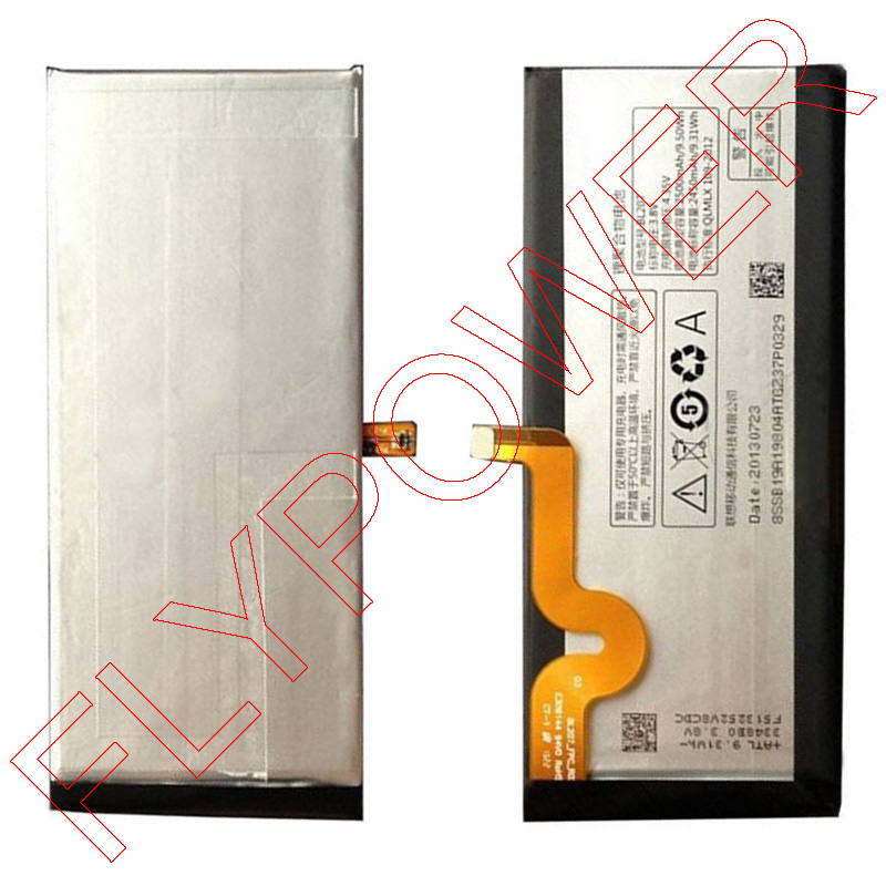 GSM-parts 100% Warranty 2500mah BL207 li-polymer battery pack replacement for Lenovo K900 by free shipping(China (Mainland))