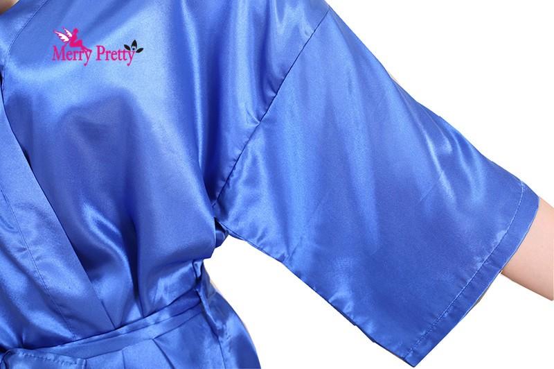С рождеством христовым довольно новый женский шелковое кимоно халаты сатинировки халат с халаты для подружек невесты Длинныйué роковой женщины халате S-3XL 5,0-мегапиксельной