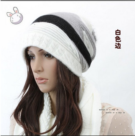 Holiday Sale 2013 Autumn Winter Knitting cotton Hat Women Caps Lady Knitted Hats Beanie RT547 - GOGO Fashion Store store