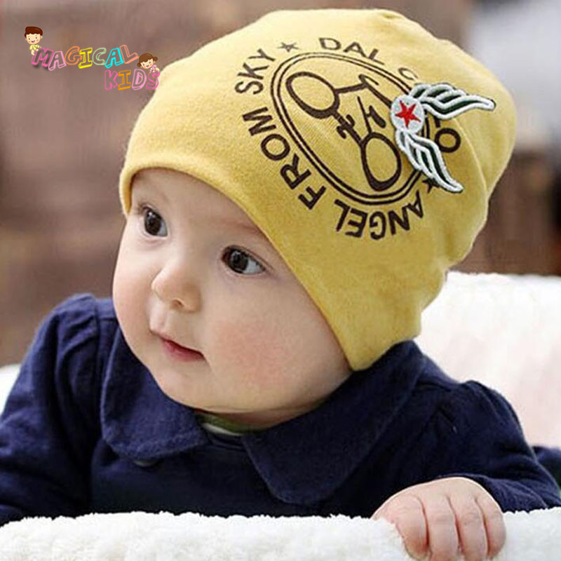 2016 New Baby Hat Cartoon Printed Cotton Turban Hat Boys Baby Warm Beanie Cap Infant Soft Kids Hats Caps for Girls(China (Mainland))