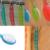 2016 Новый Скруббер Душ Ванна Кисть Помощник Здравоохранения Ручка Пилинг Тела Щеткой Кожи Потирая Спа Бесплатная Доставка I069