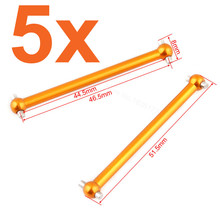 OEM 5Pairs/lot E18XBL Elcetric Himoto Spino Parts 1/18 RC Car Aluminum Shaft Dogbone 2P M608 Buggy Upgrade Metal - Super Store store