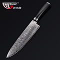 8 Inch Damascus chef knife Japanese Damascus VG10 cooking knives Damascus steel kitchen knife with Micarta
