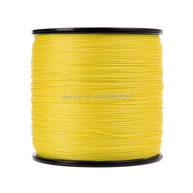 4 strands 500M yellow (2)