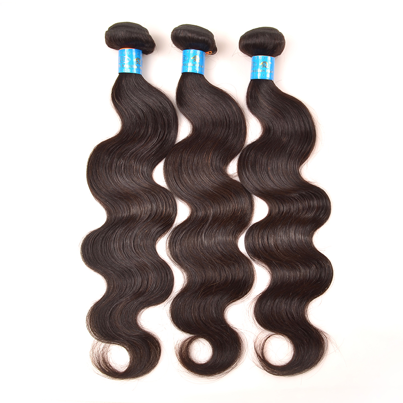 KBL Hair Products Indian Virgin Hair Body Wave 3Pcs/lot Human Hair Weave Extensions Unprocessed Human Hair Weave