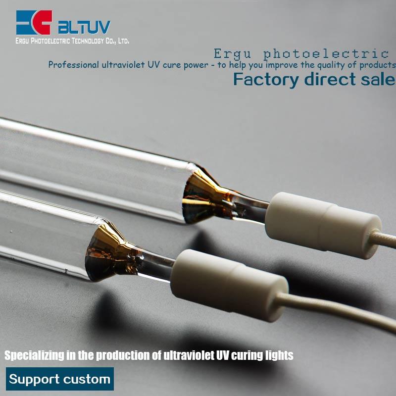 5.6 kw 550 mm 380v mercury lamp tube high pressure mercury lamp UV drying UV curing lamp light UV lamp(China (Mainland))