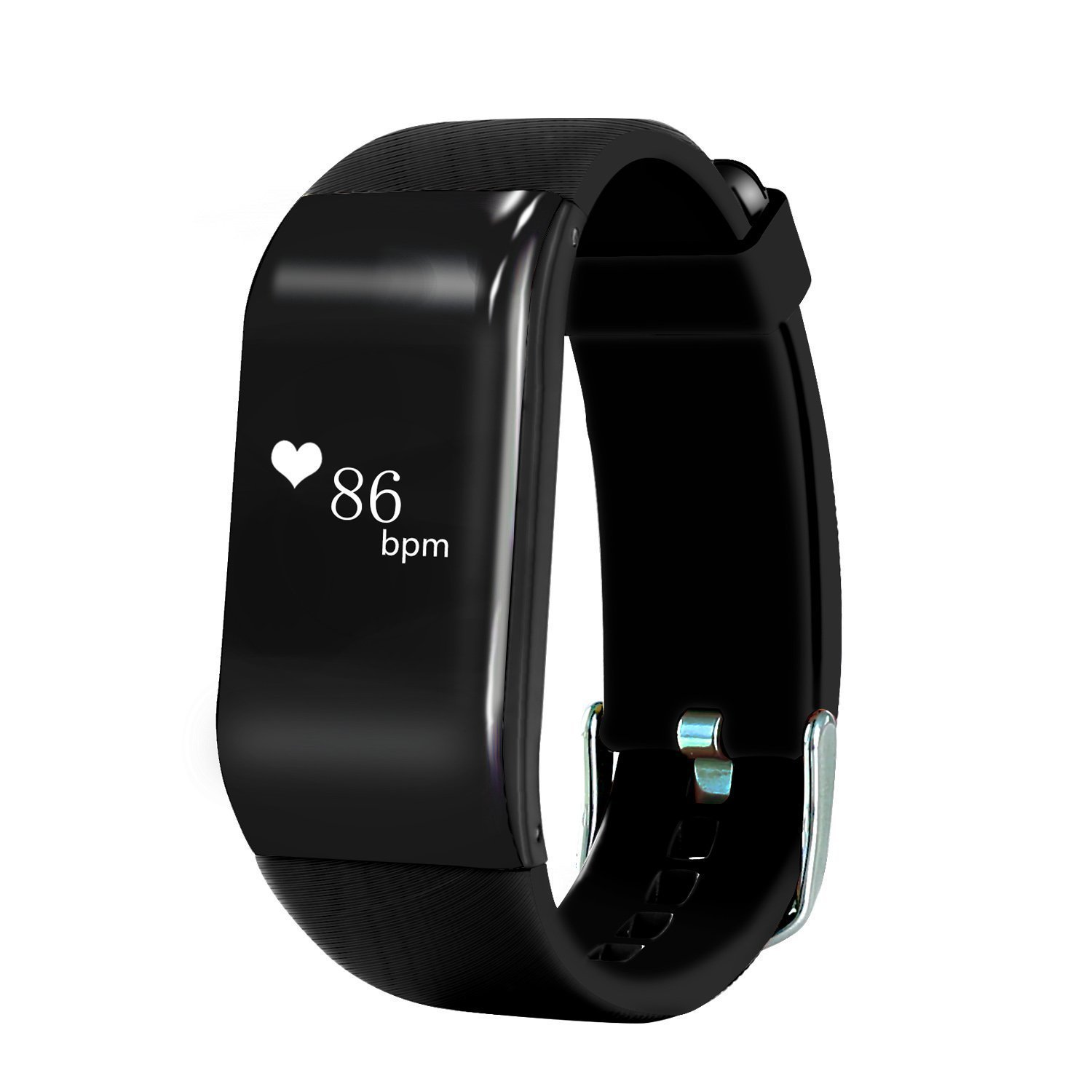 IP67 Bluetooth 4.0 Smart Heart Rate Monitor Bracelet Band Wristband Fitness Tracker Call Reminder for Android iOS vs Mi Band 2(China (Mainland))