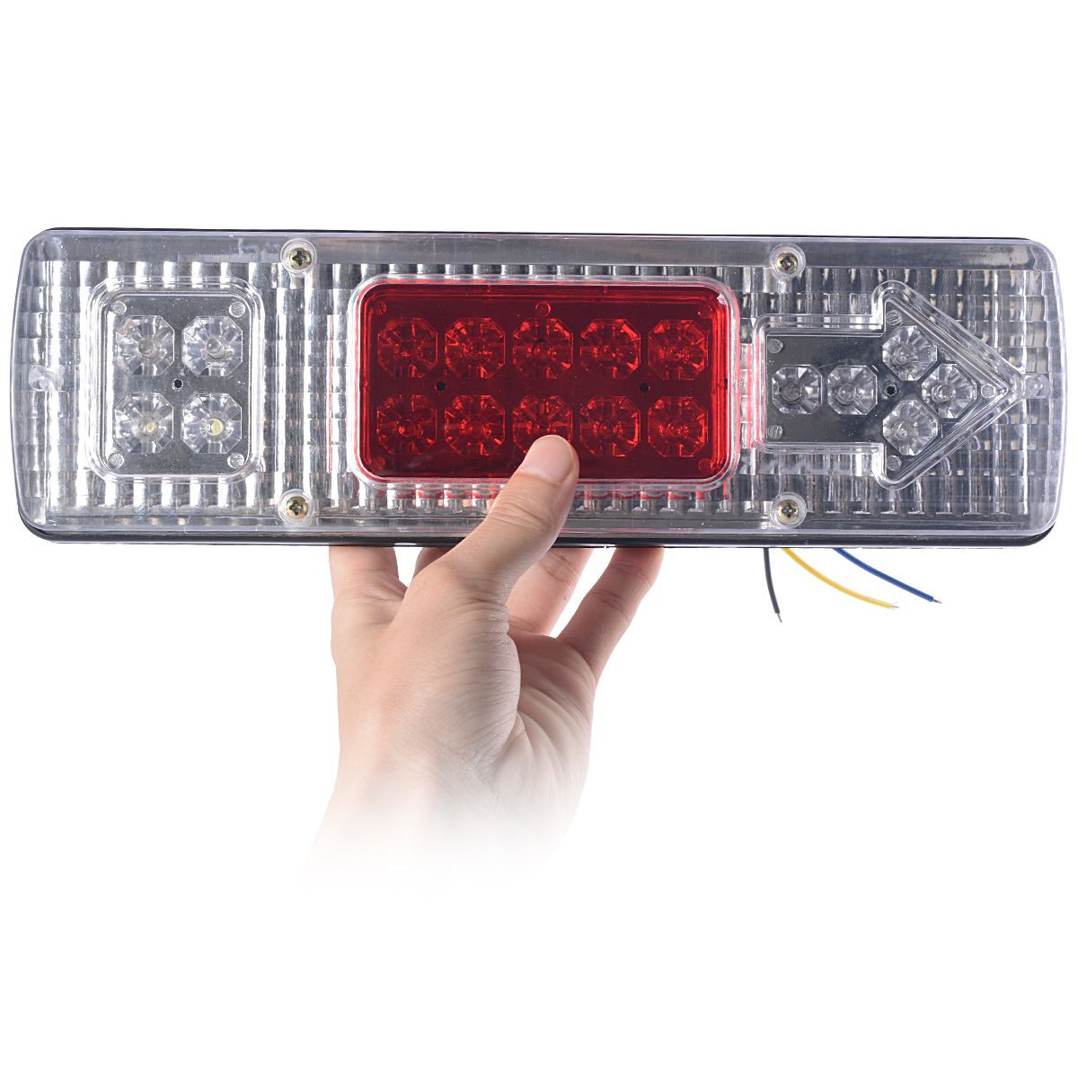 2X 19 LED Rear turn Signal Trailer Truck RV ATV Turn Signal Running Tail Brake Light Bright car styling MA149(China (Mainland))