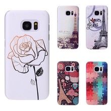 Back Cover Hard Case Samsung Galaxy S7 edge Animal Flower Fashion 3D - Guangzhou Gold Star Trading Co.,Ltd store