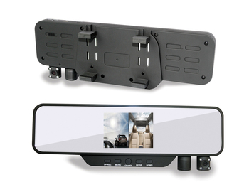 H1000 Car Rearview Mirror recording Mirror DVR 3.5 inch 720P HDMI free shipping Wide-angle 120