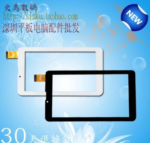 """Original New Touch screen Digitizer 7"""" inch Treelogic Brevis 714DC IPS 3G Tablet Touch panel Glass Sensor Free Shipping(China (Mainland))"""