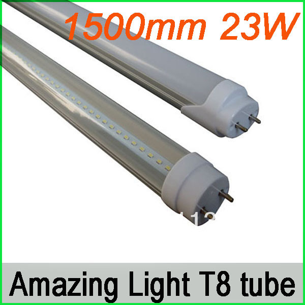 12X 210pcs SMD3014 LumenMax chip 1500mm T8 led tube light 23W , 2100-2300lm, ce Isolated driver approved , 3 years warranty(China (Mainland))