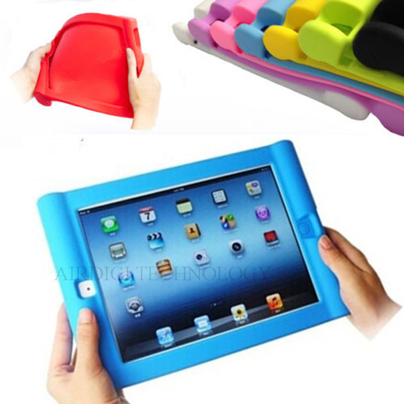 Protective Shockproof Silicone Case Cover iPad 2 3 4 Drop proof Home Children Kids - AIRDIGI TECHNOLOGY CO., LIMITED store