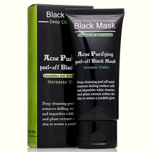 Purifying peel-off Mask Blackhead Remover Black Head Acne Treatments Face Care Sunction Deep Cleansing Black Mask(China (Mainland))