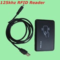 RFID 125KHZ EM4100 USB Reader Proximity Smart ID Card Read No Software or Drive Need For