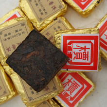 On Sale Wholesale Hot sale cooked mini Pu er tea 250g Mini Tuo tea cake bamboo