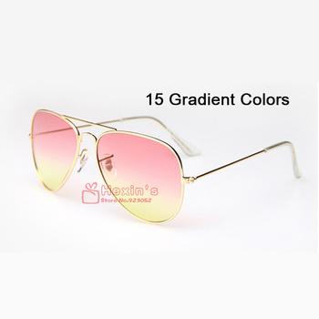 New Gradient Sunglasses Women Brand Designer Fashion Vintage Frog Mirror Unisex Sun Glasses Men Gafas Oculos De Sol