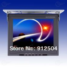 "car Monitor high definition 15"" LED digital screen 2 Video input 1 Audio output with frame(China (Mainland))"