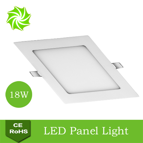 Ultra Thin Bright AC85-265V 18W Square LED Panel Light Acrylic SMD2835 White / Warm Ceiling - ShenZhen YOUYILI Lighting Co., Ltd. store